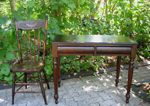Refinished Antique Canadiana Tables and Desks