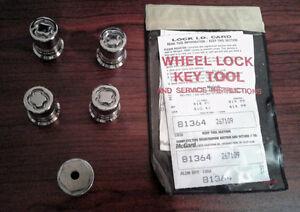 2015 2016 2017 2018 2019 Ford Mustang OEM Wheel Locks Brand New