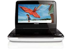 """Portable DVD Player Philips 9"""" LCD Screen in Perfect Condition"""