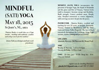 MINDFUL YOGA classes with Yoga and Mindfulness expert