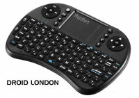 Wireless Touchpad Mouse & Keyboard *Rechargeable* Great 4 TV Box