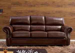 Genuine Leather sofas, love seat or chair