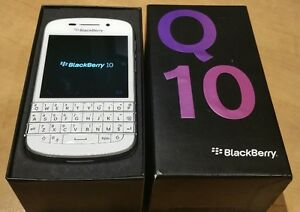 FOR SALE (used): Blackberry Q10