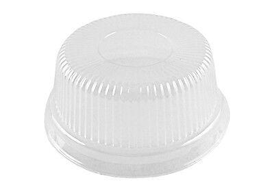 Clear High Dome Lid For 4 Oz. Aluminum Foil Cup Muffinramekinutility Cup 50pk