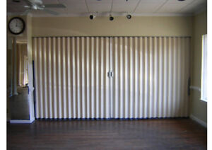 EASY DOORS 24/7 FOLDING PARTITIONS (905) 601-8112