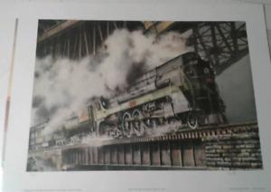 Wentworth Folkins  Ltd - Hamilton High level bridge , Ltd print