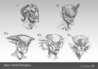 Alien and character Concept/Sculpting course! Starting