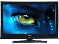 """Luxor 40"""" TV Full HD 1080p LCD with built in Freeview LUX-40-914-TVB with wallmount"""