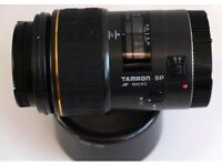 CANON FIT TAMRON AF SP 90mm MACRO AUTOFOCUS ZOOM LENS
