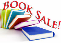 Book and Record Sale, Bake Sale too - donations accepted