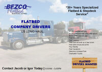 Wanted! AZ Licensed Flatbed Company Driver (US Long Haul)