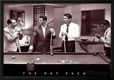 The Rat Pack Lamina Framed Poster Print - 35x25