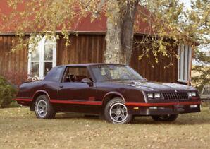 1987 GM Chevrolet Monte Carlo SS Super Sport