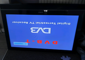32 inch black flat screen tv