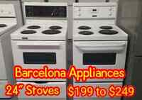 LOWEST PRICES FOR 24'' INCH STOVE IN CANADA !! SPECIAL SALE!!