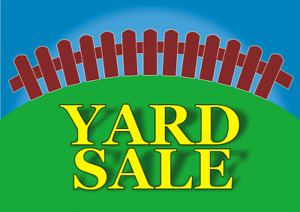 Large Garage sale inside and outside.Hundreds of items