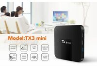 NEW TX3 Mini 2GB+16GB Android 7.1 Quad Core TV Box HD WIFI