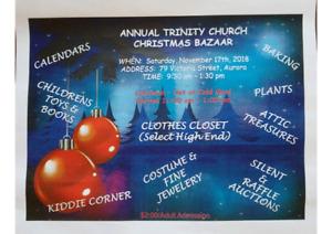 Annual Trinity ChurchChristmas  Bazaar