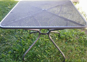 """The """"Patio Dining Table"""" & """"Allen & Roth Patio Swing"""" for sale"""