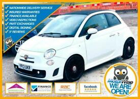 image for FIAT 500 ABARTH 595 CONVERTIBLE 1.4 T-Jet Turismo 2dr - 2013 - NEW MOT - 52K !