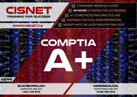 Comptia A+ starting on August/Septemer2018 @ CISNET!!!
