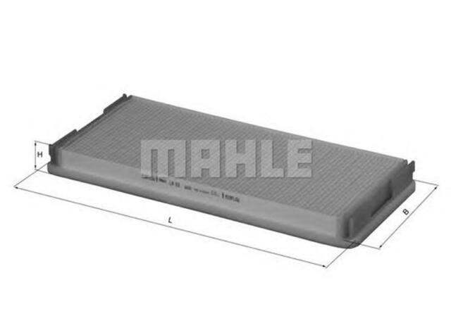 MAHLE / KNECHT INNENRAUMFILTER POLLENFILTER LA 83 ( LA83 )