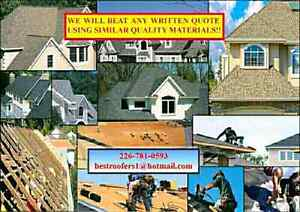 ROOFING, BEST QUALITY JOBS, ROOFERS AFFORDABLE PRICES FREE QUOTE Cambridge Kitchener Area image 10