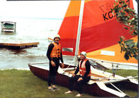 Best Kept/must see brown hull/orange/yellow/clear sails