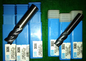 "3/4"" & 5/8"" Solid Carbide Endmills (SGS brand new) 6pcs. Kitchener / Waterloo Kitchener Area image 1"
