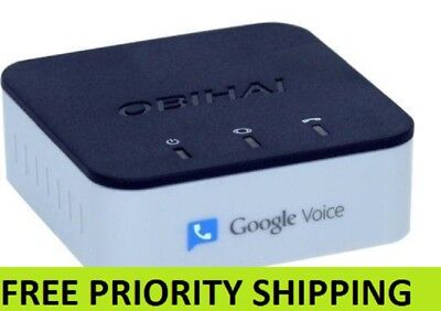 Obihai Obi200 Voip Telephone Adapter With Google Voice   Sip Free Priority Ship