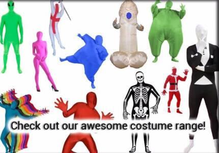 Party Costumes! Zentai morph second skin inflatable sumo suit