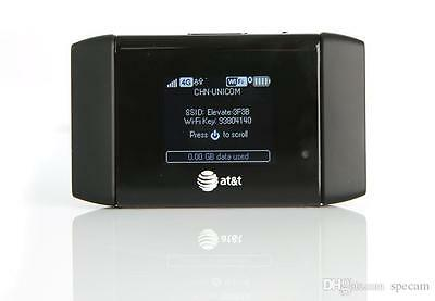 Unlocked Sierra Wireless Aircard 754S Mobile Hotspot 4G Lte Router At T