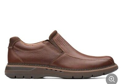 Clarks Un Ramble Step Slip On Shoes - Men's Size 7.5M - Brown
