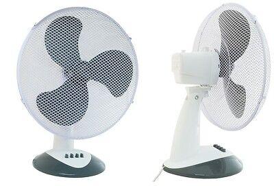 Ventilatore oscillante o fisso, da tavolo, 3 velocità, JCF30 pale da 30cm