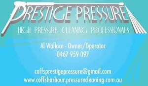 Prestige Pressure/pressure cleaning Moonee Beach Coffs Harbour City Preview