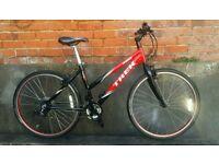 Trek 4100 aluminium frame hybrid bike