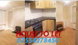 Newly Refurbished 2 Bedrooms & 2 Reception Rooms House To Let