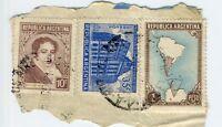 Sp 270703 Frammento Francobollo Argentina -  - ebay.it