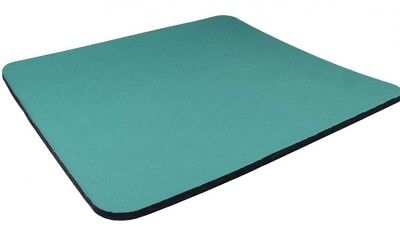 Green Quality Mouse Mat Pad Foam Backed Fabric - 5mm 3 For The Price Of 2
