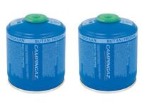 2 x CAMPING GAS CARTRIDGE CV470 450g CAMPING GAZ CAMPINGAZ FOR STOVES & LANTERN