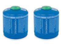 2 x Campingaz Gas CV300 Plus Butane Propane Camping Gas Cartridge For Stoves & Lanterns
