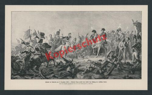 Schlacht bei Austerlitz Sieg Napoleon I Gen. Rapp Elite Mamluken Kavallerie 1805