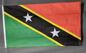 St Kitts and Nevis flag printed polyester 150 x 90 cm/ 5x3' Brand new Marrickville Marrickville Area Preview
