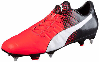 Puma EvoPower 1.3 MX Soft Ground Mens Football Boots - Red