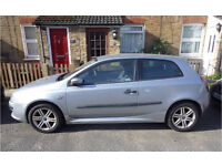 Fiat Stilo Active Sport 1.6 petrol, silver, 3 dr, manual 67K miles for sale £500 ono