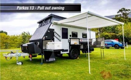 2017 Ezytrail Parkes 13 Off-Road Caravan 13FT - Park 'n GO