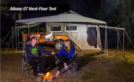 Drive away a brand new Hard Floor Camper. PMX Campers Albany GT