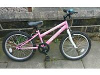 Girls Pink Bike ***hardly used***