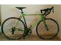 Mens cannondale racing bike