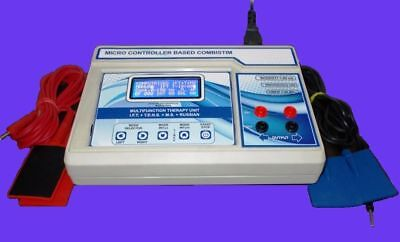 Electrotherapy Combination 4 Channel Combination Physical Therapy Machine Device